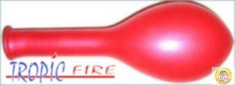 Балони металик- червено, 25см, 100бр.