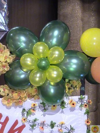 Изработване на обемни фигури от балони