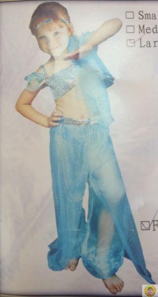 Детски костюм Oриенталска танцьорка S размер