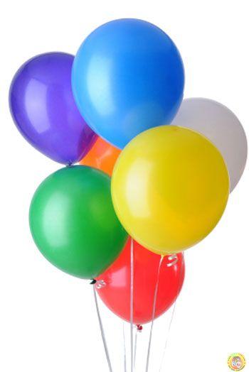 Балони пастел - микс, 20см, 100бр.
