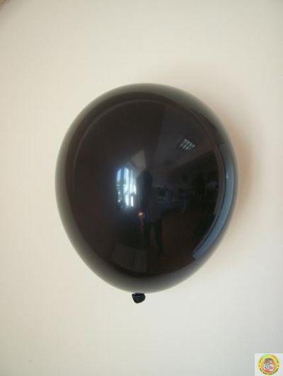 Балони пастел- черно, 25см, 100бр.
